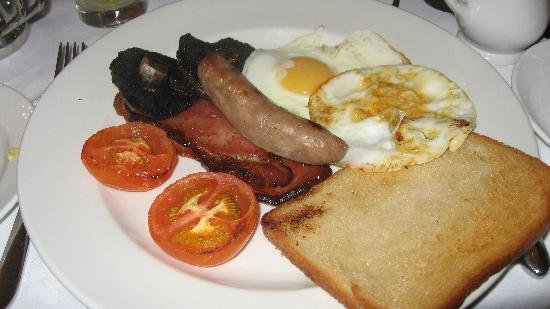 The Swan Hotel: The wonderful breakfast!