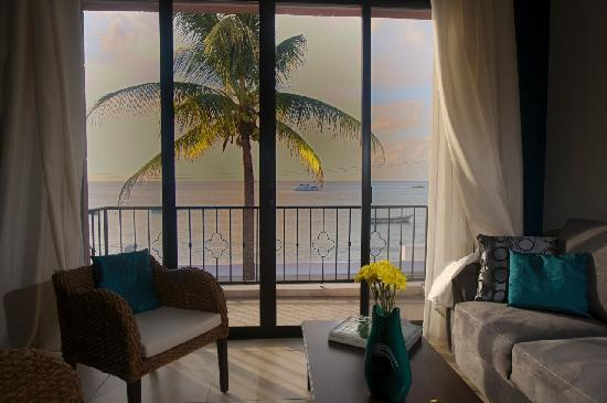 Guidos Boutique Hotel: View from inside