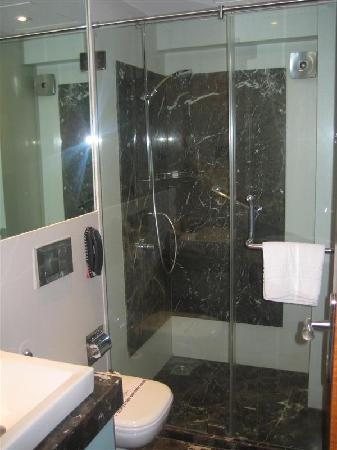 Hotel Bawa Continental : The spacious bathroom