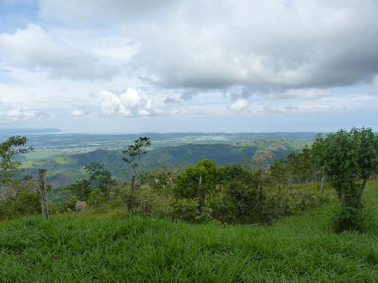 Osa Peninsula, คอสตาริกา: Ocean view from Osa Mountain Village