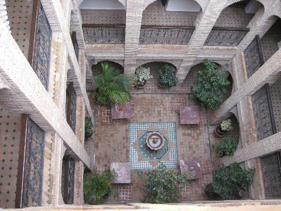 Riad Hotel Assia : Innenhof