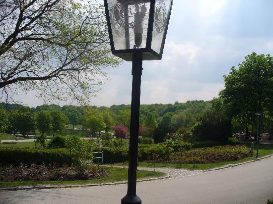 Wirtshaus am Rosengarten : Aussicht von der Terrasse