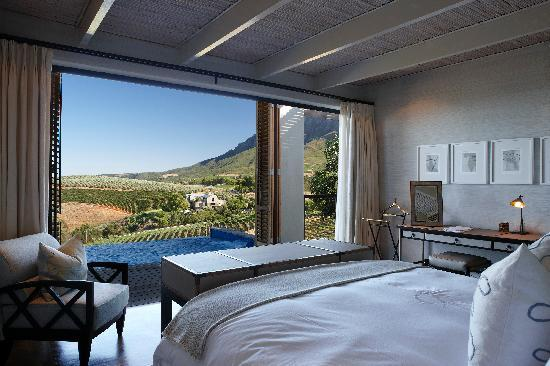Delaire Graff Estate - Lodges and Spa: Bedroom