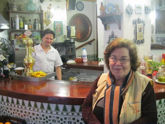 Pension Landazuri: The staff were fabulous