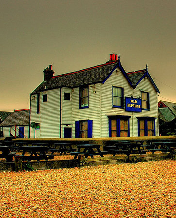Old Neptune: Neptune pub with picnic benches