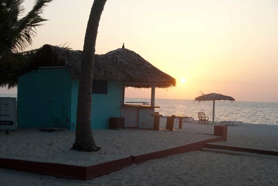 Lakshadweep, India: Sunset beach