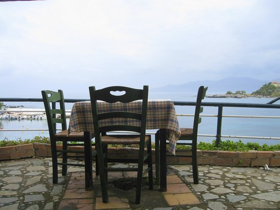 View from Pefko Taverna