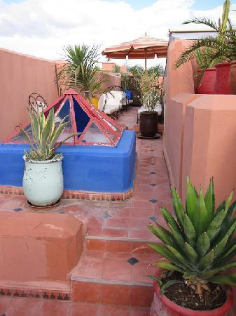 Riad Dar Eliane: The roof terrace