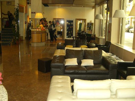 Hotel Italia: Hotelfoyer