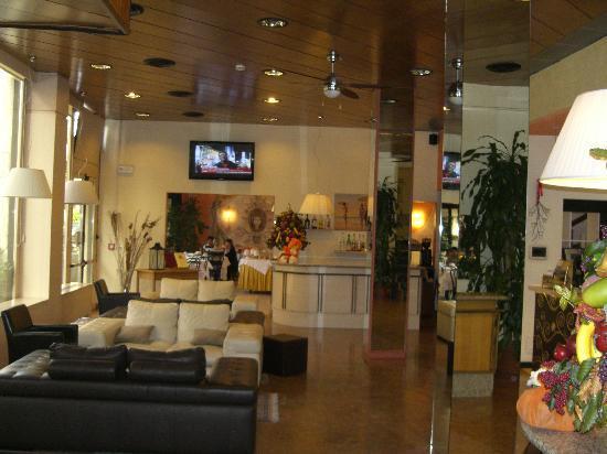 Hotel Italia: Hotelhalle