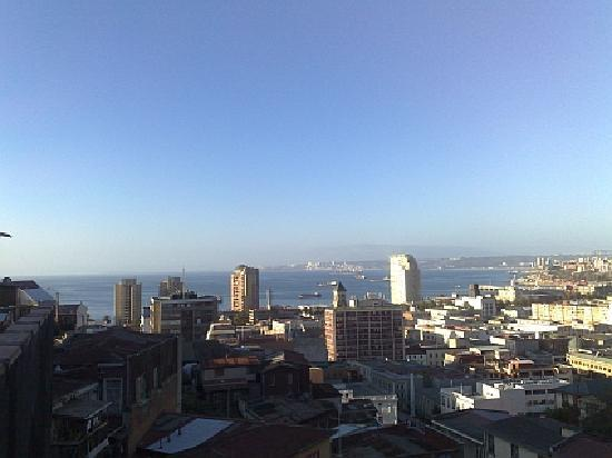 Valparaiso Experience Apartments: View from the Bellavista cottage