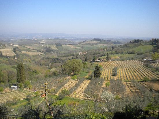 San Gimignano 1300: A view of the surrounding area