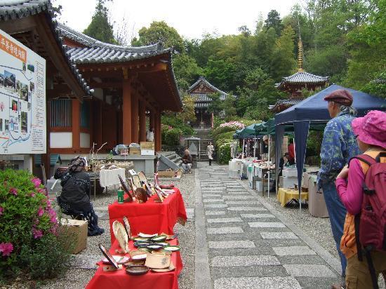 桜井市, 奈良県, 露店が一杯