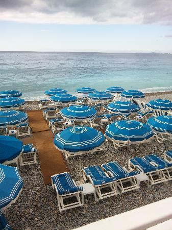 Nice, France: ニースの海岸①