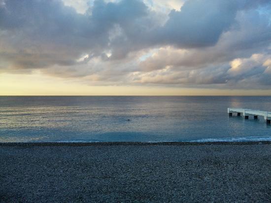 Niza, Francia: ニースの海岸③