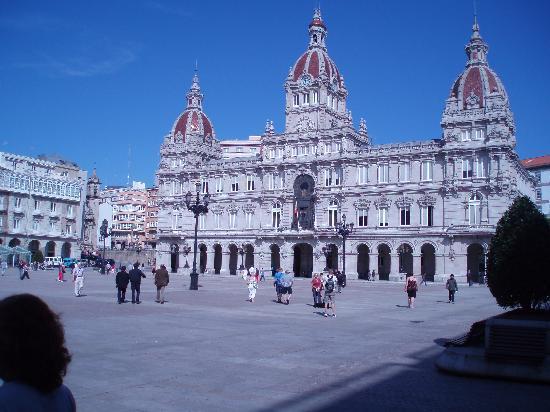 La Coruna, Spain: la piazza principale