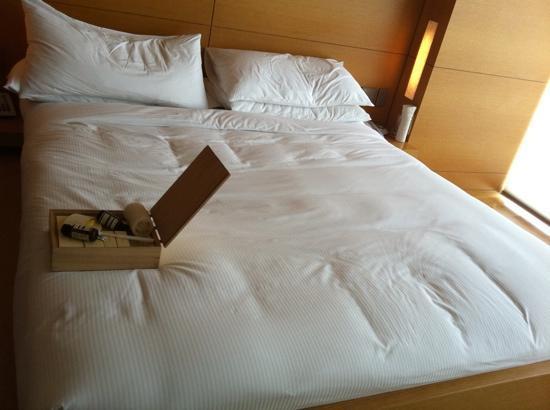 Park Hyatt Seoul : after suddenly sleep overnight, bed still tight, perfect.