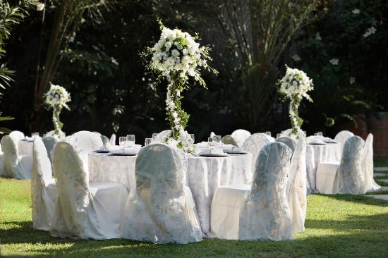 Lancaster Tamar Hotel: Outdoor Wedding