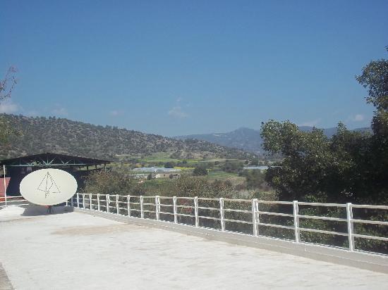 Santa Marina Retreat: view from santa marina