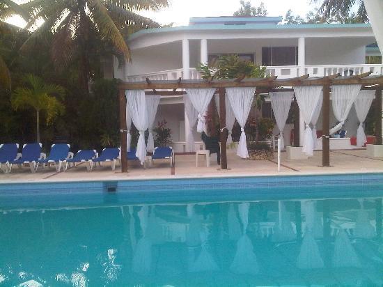 Hotel Celuisma Cabarete: area de la piscina