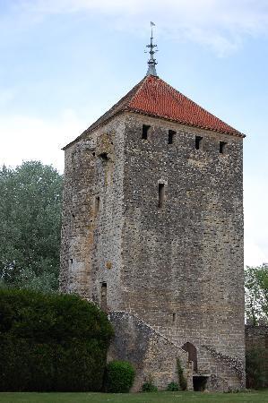 Chateau de Vault-de-Lugny : Chateau Tower