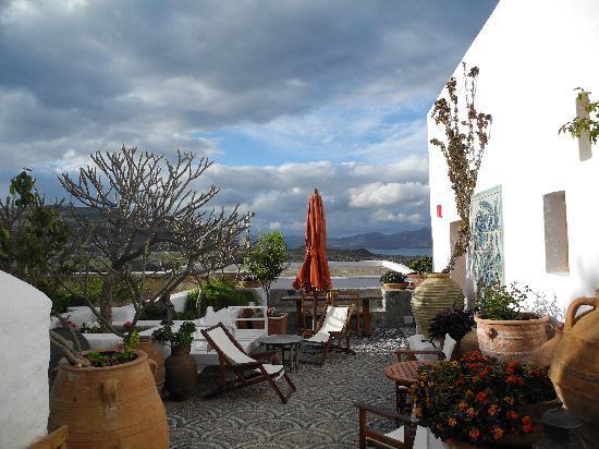 Melenos Lindos Hotel: Terrazzo Room 8