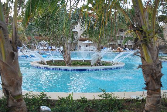 Dreams Palm Beach Punta Cana: one of swimming pools