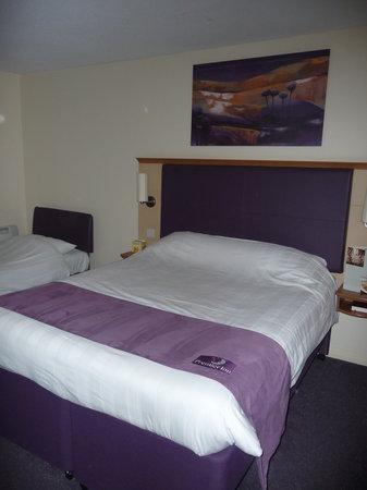 Premier Inn Nottingham City Centre (Goldsmith Street) Hotel: Nuestra habitación