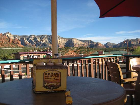 Red Rock BBQ : Patio View