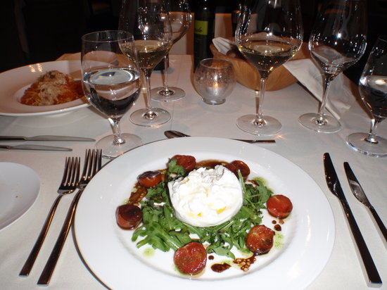 Dubravkin Put: Buratta cheese for entree was lovely!