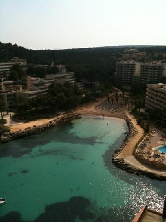 SENTIDO Cala Viñas: view from balcony on arrival