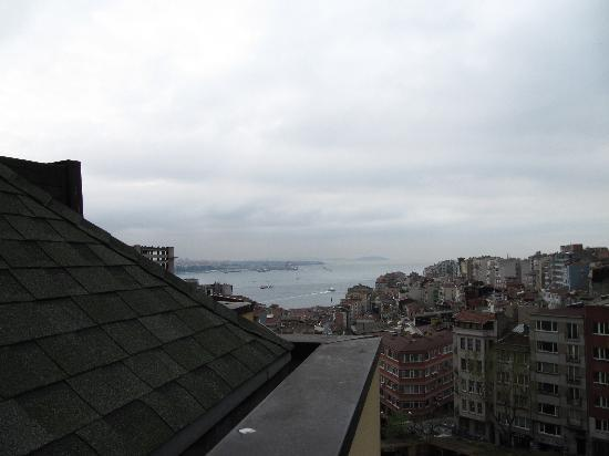 Taksim Metropark Hotel: view No2