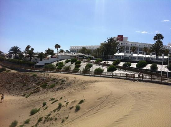 Hotel Riu Palace Maspalomas: vista dalle dune