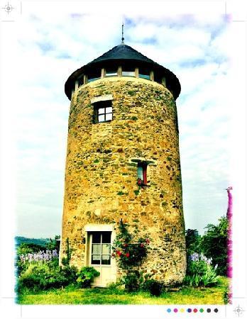 Moulin Géant (chambres d'hôtes) : moulin géant