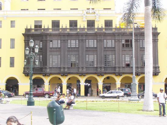 Edificio del Arzobispado de Lima Peru