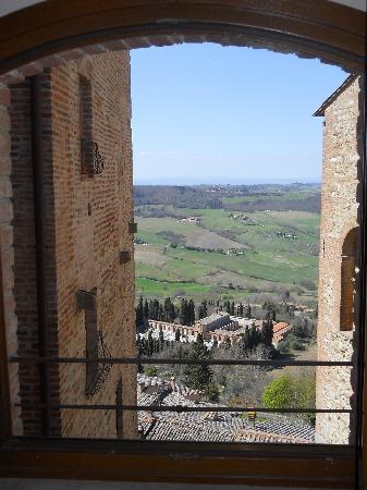 Osteria del Borgo : View from hotel room window