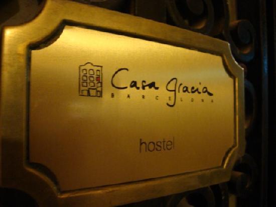 Casa Gracia: Entry
