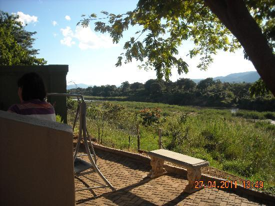 Rio Vista Lodge: View from chalet