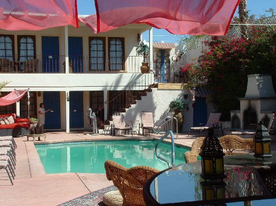 El Morocco Inn & Day Spa: The quiet pool