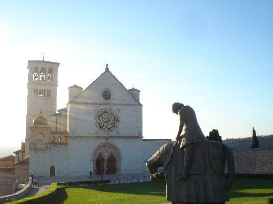 Assisi, Italy: Basilica of St.Francis