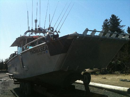 Thomas Sea, Miller's Landing Charter vessel and landing craft