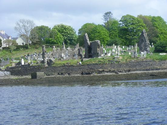 Donegal, Irlandia: Old Abbey and Graveyard