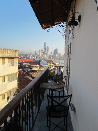 لاس كلمنتيناس: balcony