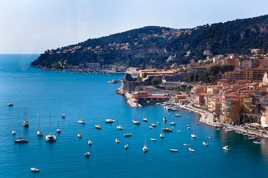 Villefranche-sur-Mer, Frankrike: On the way to Monaco from Nice