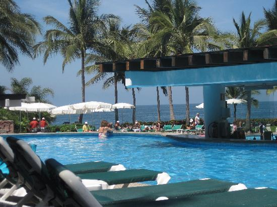 Mayan Palace Puerto Vallarta: view from adult only pool