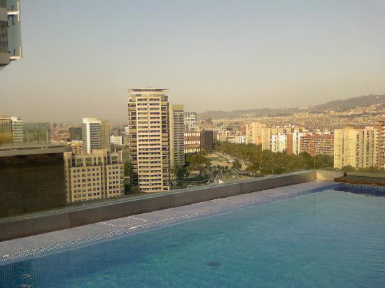 One of 3 jacuzzis on 13th floor picture of ac hotel - Ac hotels barcelona ...