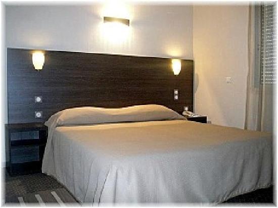 Hotel La Fregate : La chambre double.