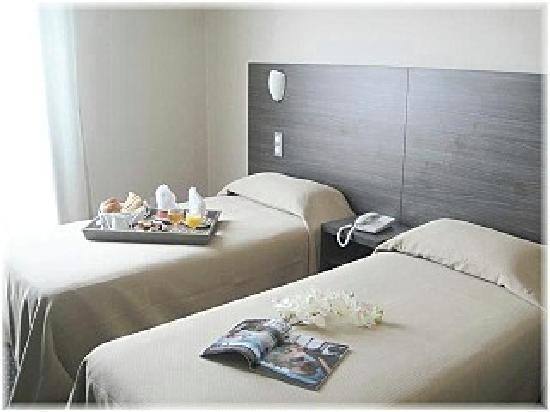 Hotel La Fregate : La chambre twin.