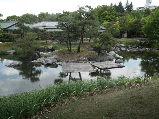 Nagoya, Japón: 白鳥庭園の写真その3