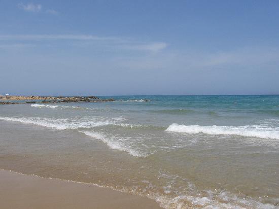 Mitsis Rinela Beach Resort & Spa : la plage